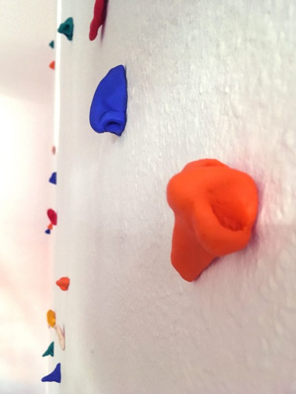Noses and ears on the wall
