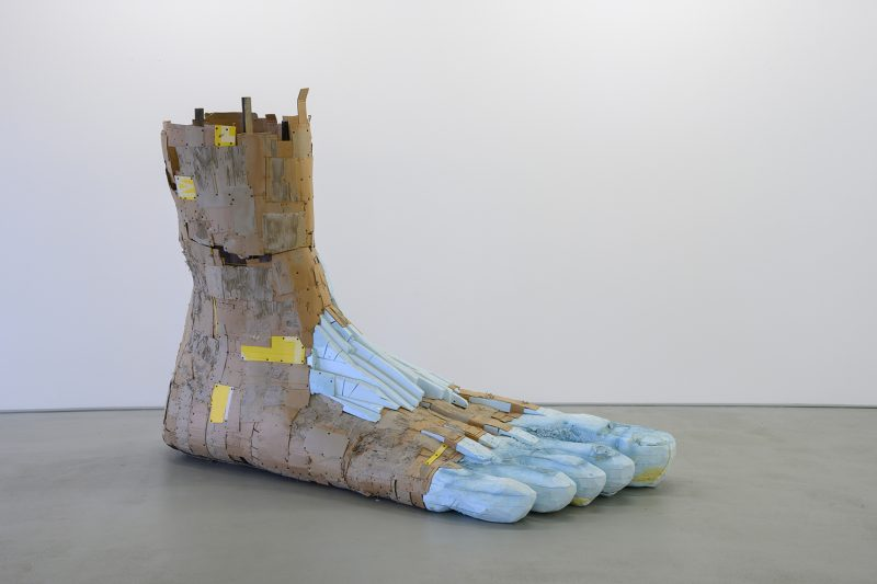 Foot sculpture