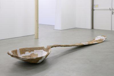 Big spoon sculpture